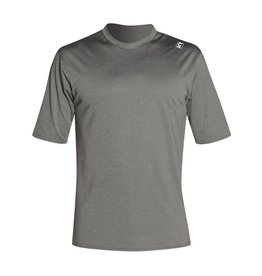 C-Skins C-Skins - UV Skins Mens SS Surf Tee Crew neck - XL - Grey