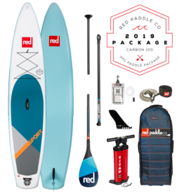 RedPaddleCo RED - Sport 12'6 med 3-delt 100% Carbon-åre