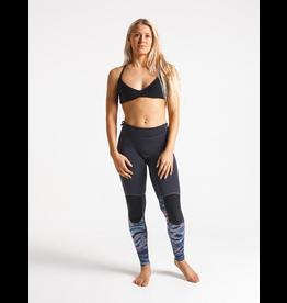 C-Skins C-Skins - Solace 1.5mm Womens Flatlock Leggings - Black/Coral L/40