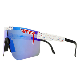 Pit Viper Pit Viper - Absolute Freedom Double Wide - Polarized - Blue Revy Mirror