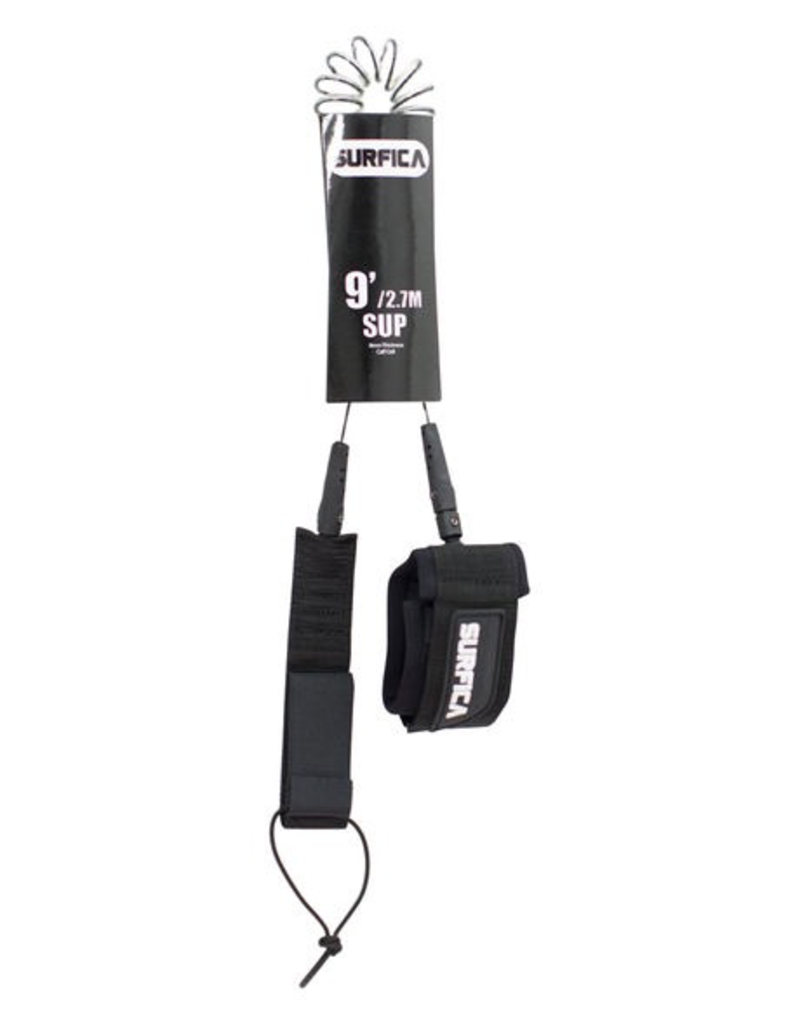 Surfica Surfica - 9' 8mm Coiled SUP Leash
