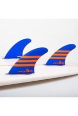 FCS FCS2 - 3Fin - JW PC Medium Blue/Orange (65-80kg)