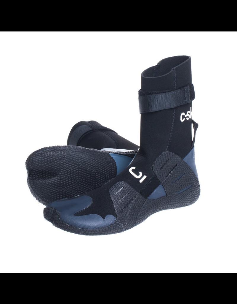 C-Skins - Session 3mm Adult GBS Hidden Split Toe Boots - Black - UK7/US7,5/40