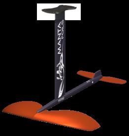 Mantafoil Manta Mono SUPfoil Alu/G10, 1800cm2 vinge, Plate top, 86cm fuse, 260cm (large) stabilizer