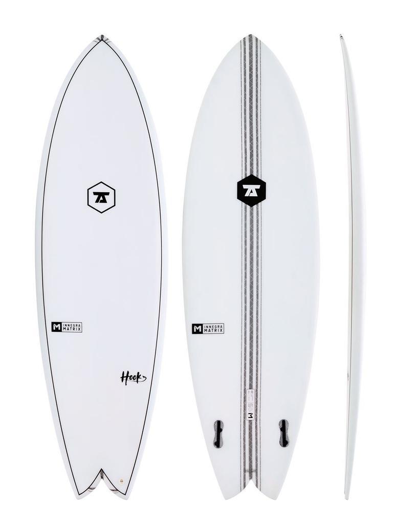 7S 7S - 5'8 Hook IM Twin Fin − 31L - FCS2