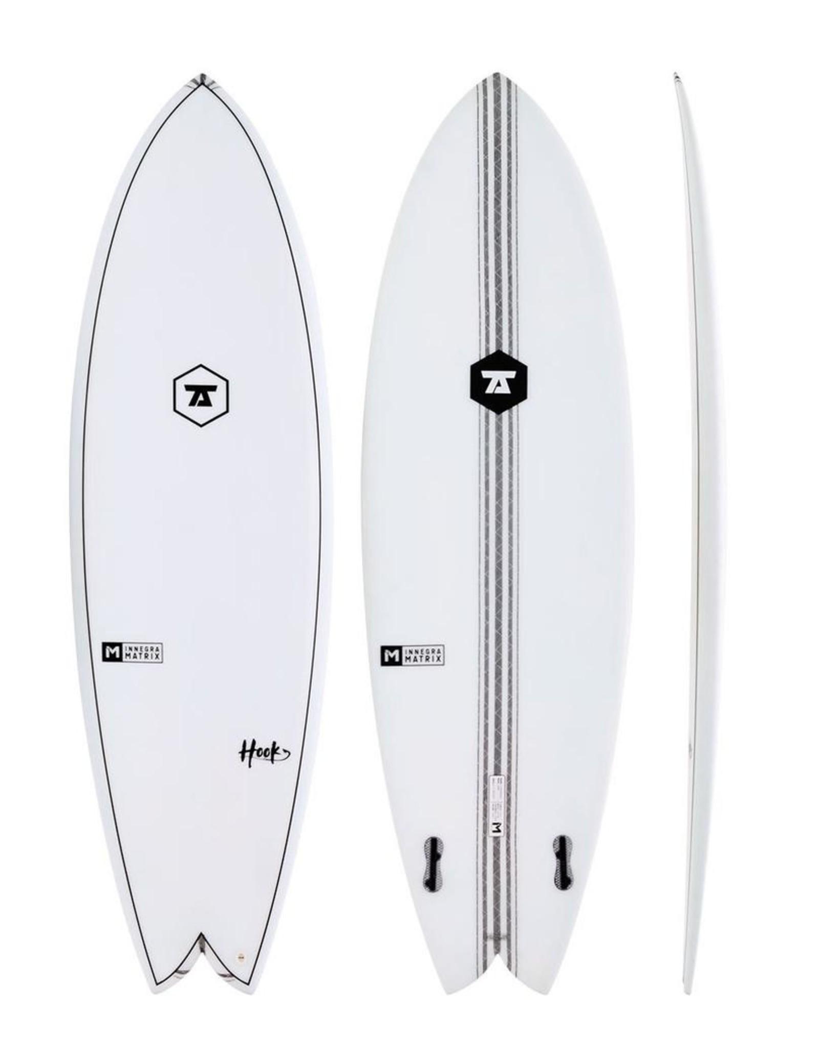 7S 7S - 5'10 Hook IM Twin Fin − 33L - FCS2
