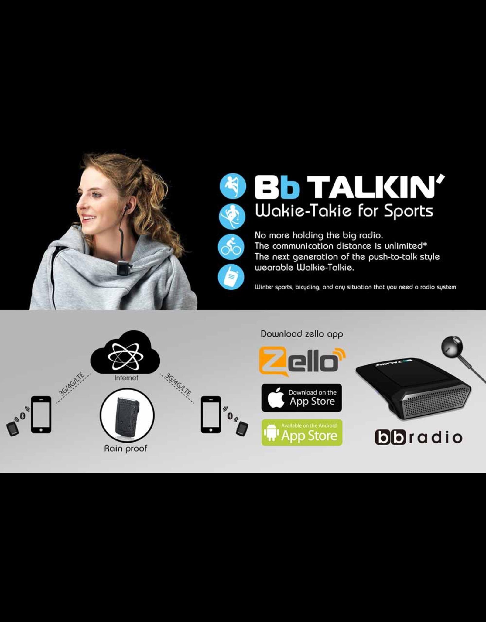 BbTalkin Bb Talkin tomanns BT WalkieTalkie touch