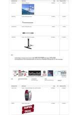 Fanatic Komplett Pakke - Fanatic Sky SUP Foil Edt • Foil Wing 4m2 • Aero Foil 2000