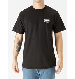 Real Real - Small Oval Tee - Black - S