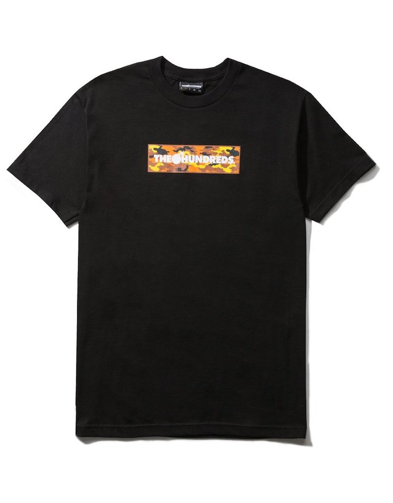 The Hundreds The Hundreds - Camo Bar T-shirt - BLK - XL