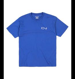 Polar Polar - Script Logo Tee - S - Blue