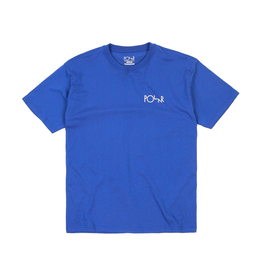 Polar Polar - Script Logo Tee - M - Blue