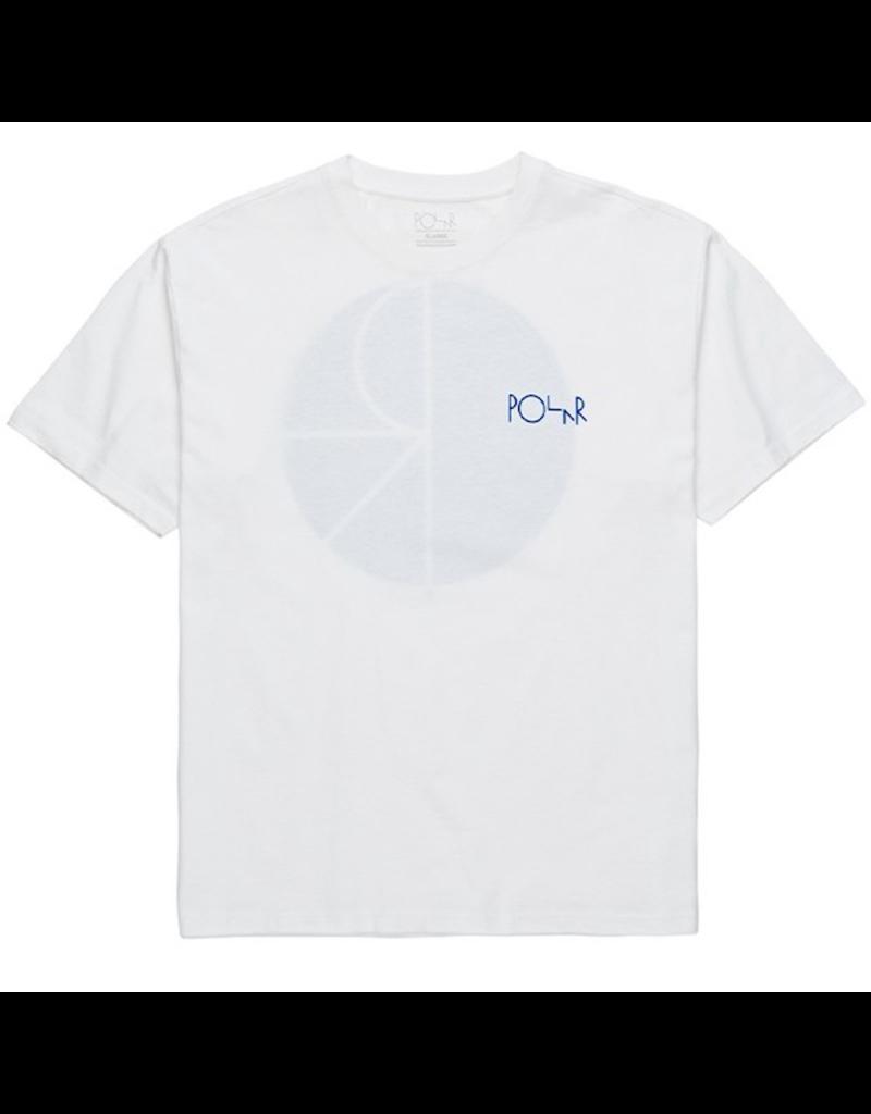 Polar Polar - Fill Logo Tee - S - White