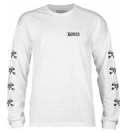 Bones Bones - Steve LS - L - White
