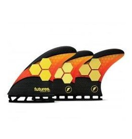 Future Fins Futures - AM2 5-FIN SET Techflex L (80kg+)