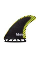 Future Fins Futures - PYZEL Control Series - L (80kg+)
