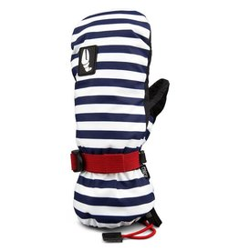 Crab Grab Crab Grab - Cinch Womens - L - Navy Stripe