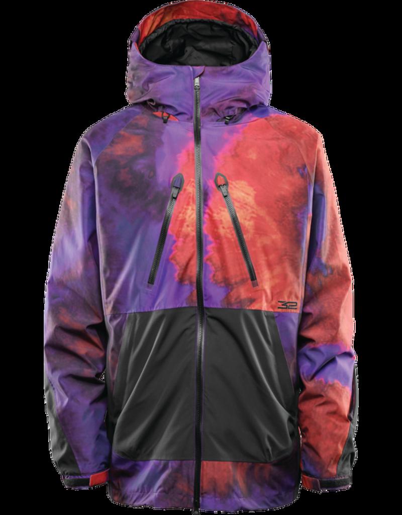 32 32 - Mullair Jacket - L - Black/Purple