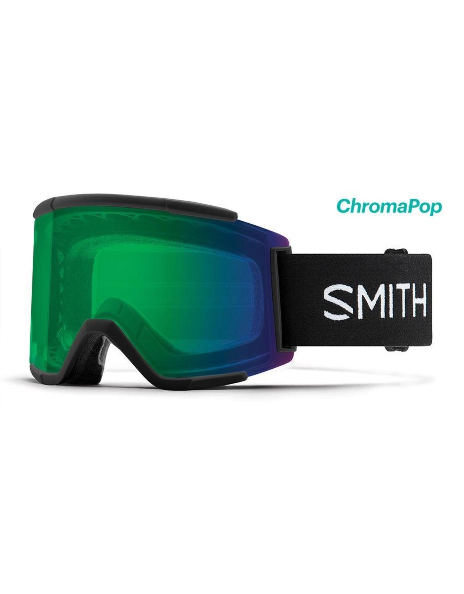 Smith Smith - Squad XL - Black - ChromaPop Everyday Green Mirror