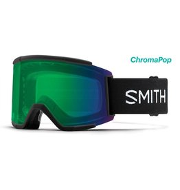 Smith Smith - Squad XL - Black - ChromaPop Everyday Green Mirror