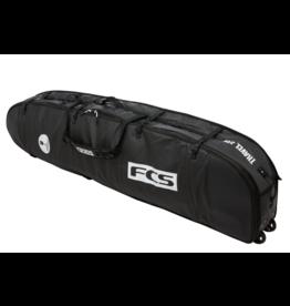 FCS FCS - Travel 3 Wheelie Fun Board - 7'6 - Black/Grey - Boardbag