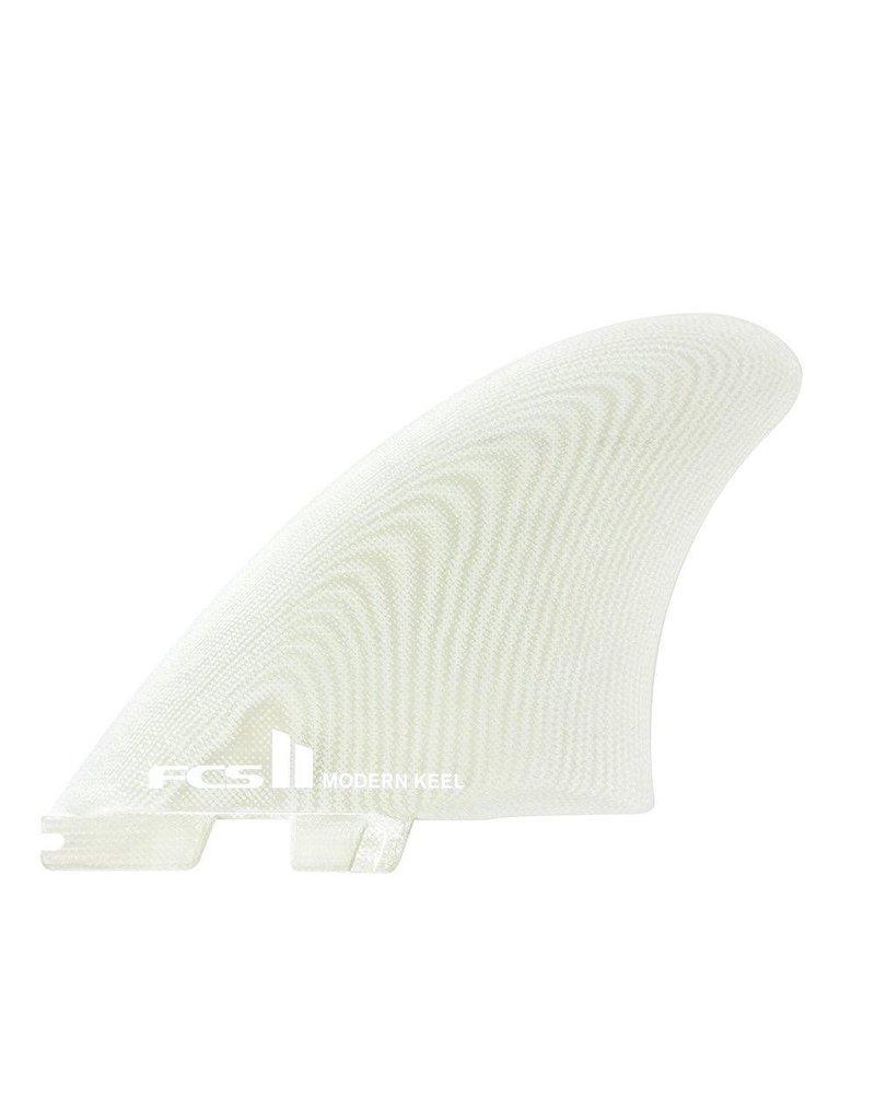FCS2 - 2Fin - Modern Keel PG Clear Twin - Clear - M (65kg - 88kg)
