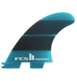 FCS2 - 1Fin - Performer Neo Glass Right Fin  - Teal/Gradient - M (65kg - 88kg)
