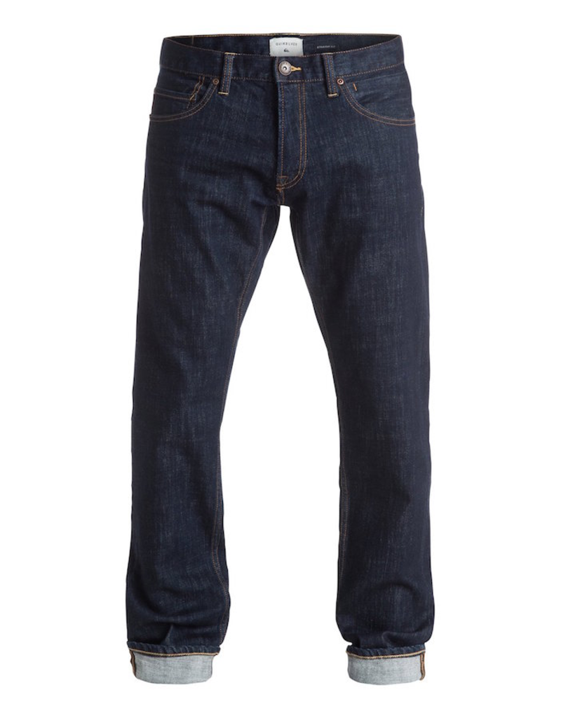 Quiksilver Quiksilver - Revolver Rinse Straight Jeans  - BSNW - 30x32