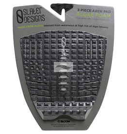 Firewire Firewire - Slater 3-Piece Arch - Traction Pad - Black/Grey
