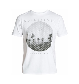 Quiksilver Quiksilver - SS Carbon Tee - N5, White, L