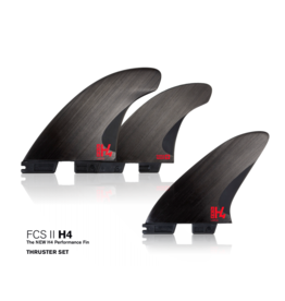 FCS2 - 3Fin - H4 - Smoke - Medium (65-80kg)