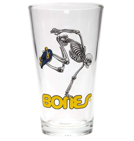 Powel Peralta Powell Peralta - Skeleton Pint Glass
