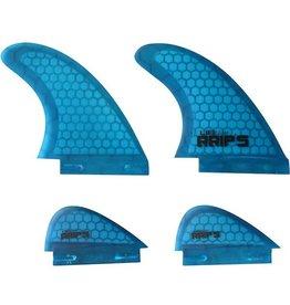 Lib-Tech Lib-Tech - Quad Fin Set - L - Blue