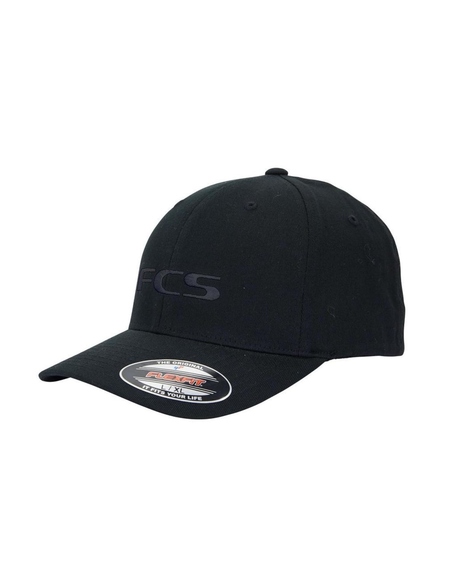 FCS FCS - Essential Permacurve Cap - Black - S/M