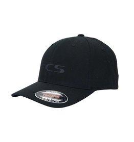 FCS FCS - Essential Permacurve Cap - Black - L/XL