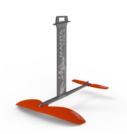 Mantafoil Manta Mono V3 SUPfoil Alu/G10, 1800cm2 vinge, Plate top, 86cm fuse, 260cm (large) stabilizer