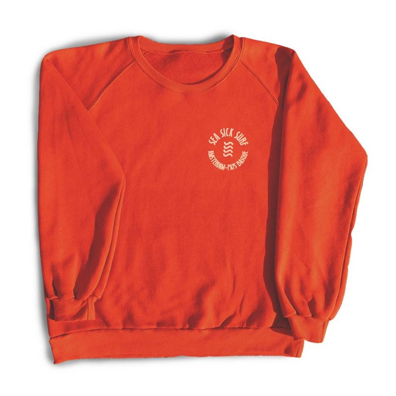 Sea Sick Surf Sea Sick Surf men's sweater orange