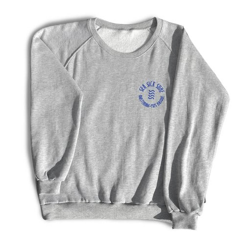 Sea Sick Surf Sea Sick Surf men's sweater grey