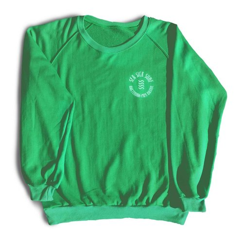 Sea Sick Surf Sea Sick Surf men's sweater green
