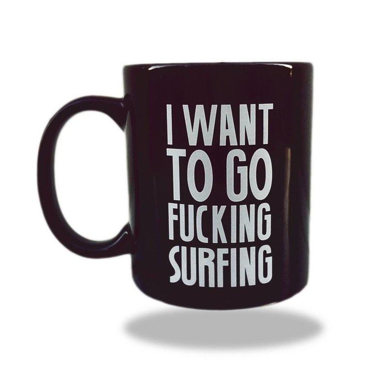 Sea Sick Surf Sea Sick Surf coffee mug black