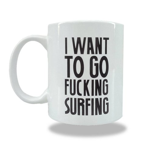 Sea Sick Surf Sea Sick Surf coffee mug white