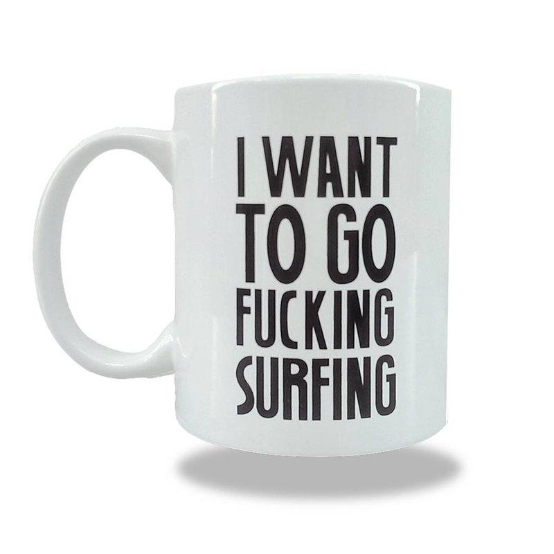 Sea Sick Surf Sea Sick Surf coffee mug white