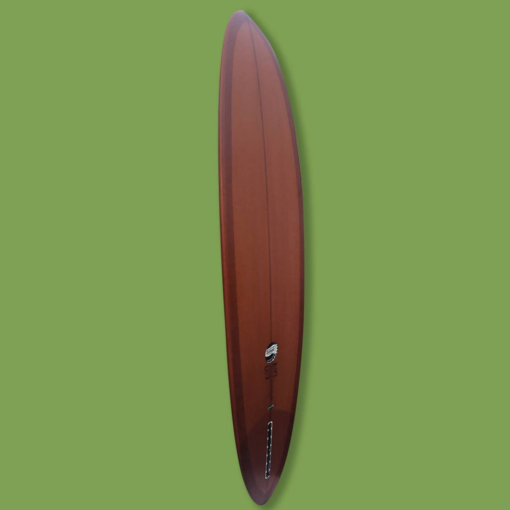 "Thomas Bexon Midlength Friend 7'6"" Brown // SOLD"
