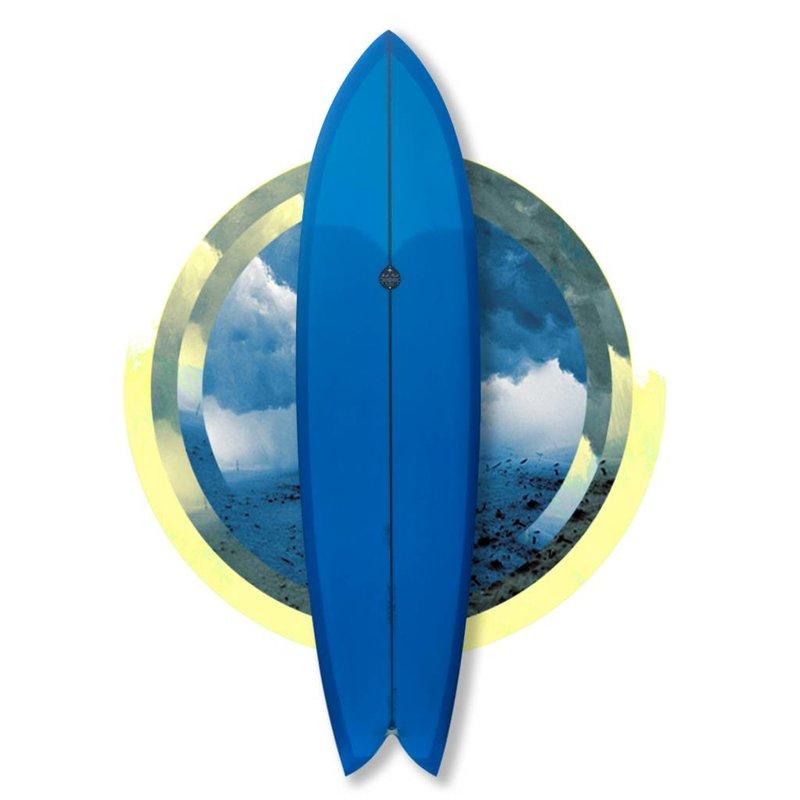 Josh Hall fish simmons 6'7 blue