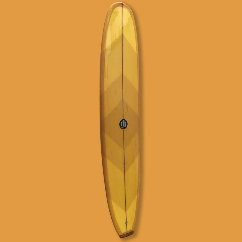 Roger Hinds classic orange 9'2 // SOLD
