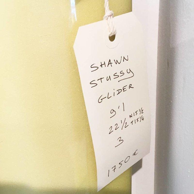 Shawn Stussy glider 9'1 yellow // SOLD