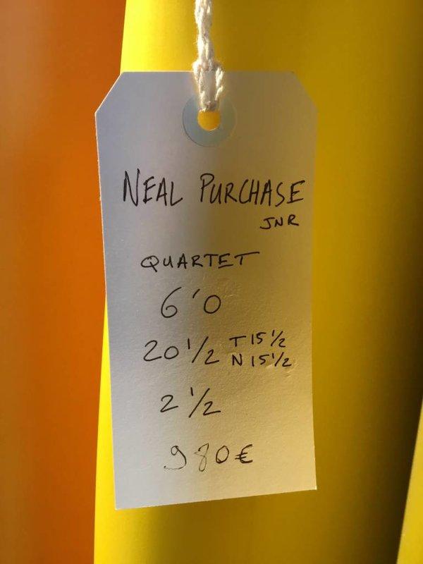 Neal Purchase Junior Quartet 6'0 // SOLD