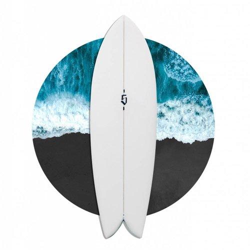 SPOE SURFBOARDS TWIN 5'8