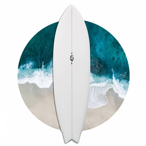 SPOE SURFBOARDS TWIN 6'4