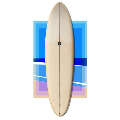 Josh hall panacea egg 6'8 cream polish // SOLD
